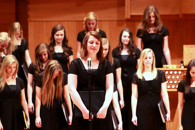 Women's Chorale -Spring 2014