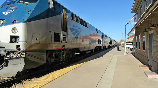 Amtrak California Zephyr Eastbound