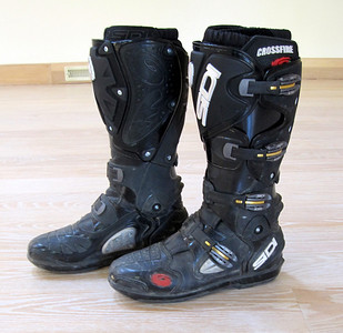 Sidi Crossfire Motorcycle Boots - Size 10
