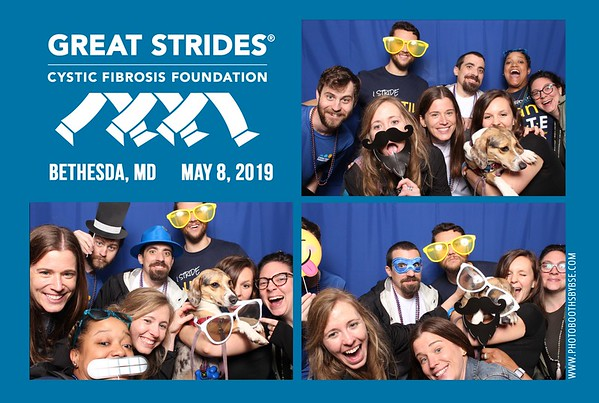 Cystic Fibrosis Foundation Great Strides Bethesda 2019