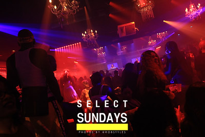 SELECT LOUNGE SUNDAY SEPT 2ND
