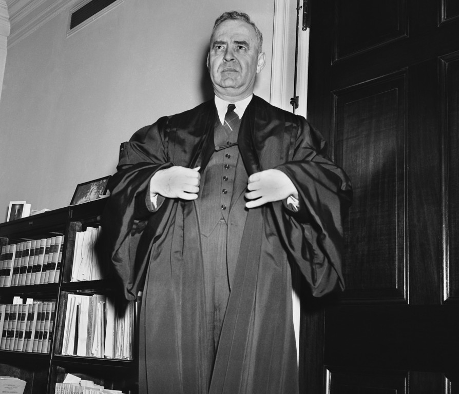 . The nomination by President Roosevelt of Wiley Blount Rutledge of Iowa as an Associate Justice of the Supreme Court was confirmed by the Senate in Washington, Feb. 8, 1943. Justice Rutledge succeeds James F. Byrnes, economic stabilization director. The 48-year-old jurist was promoted from the Court of Appeals. (AP Photo)