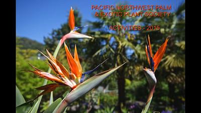 Palm Society - 2015 Activities
