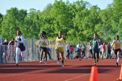 B&G 100M Finals - 2013 Oakland County Track Meet
