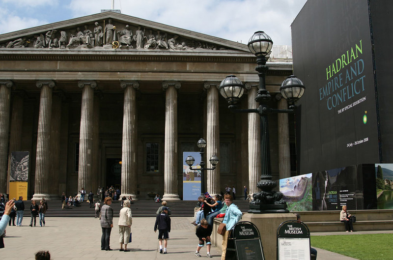 British Museum - art and artifacts covering the major world cultures.