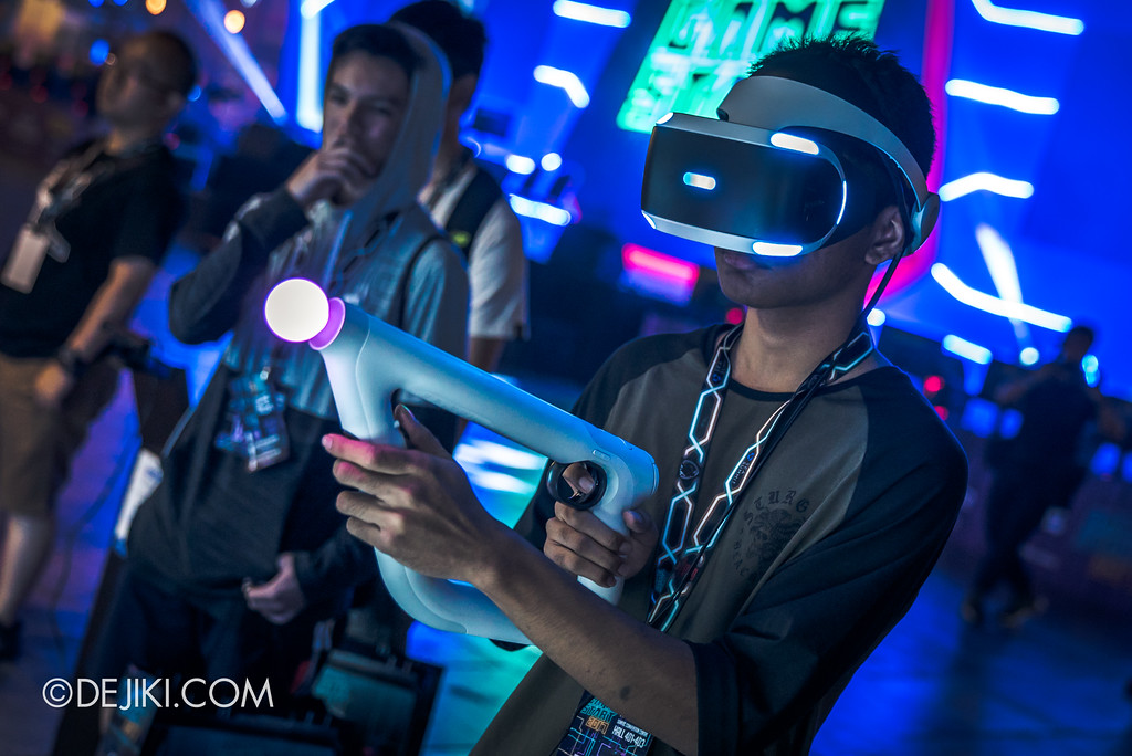 GameStart Asia 2017 Singapore gaming convention - Sony Playstation VR demo