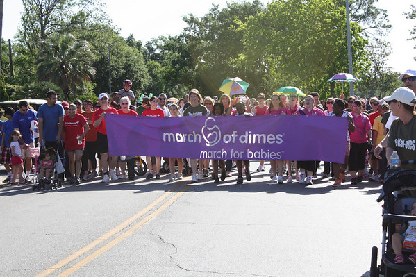 March of Dimes Walk with Bank of America, 2010