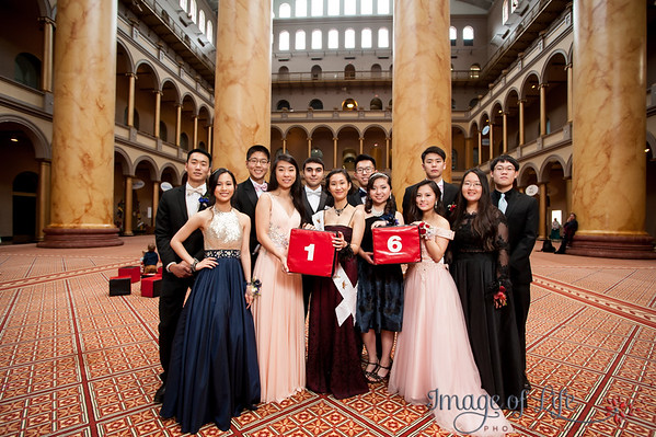 Fairfax High School Prom Portraits