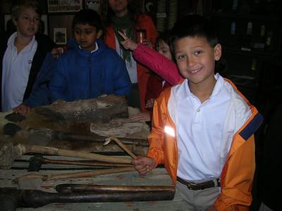 2nd Grade Visits the Brunt Museum