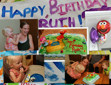 Happy 2nd Birthday to Ruth Grace !!