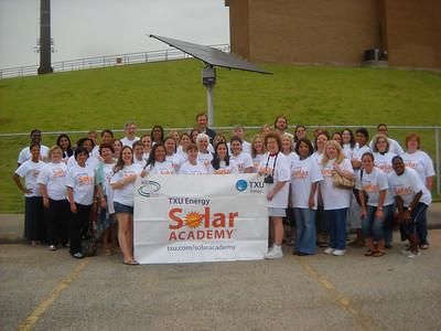 TXU Energy Solar Academy @ FBISD 5-21-11