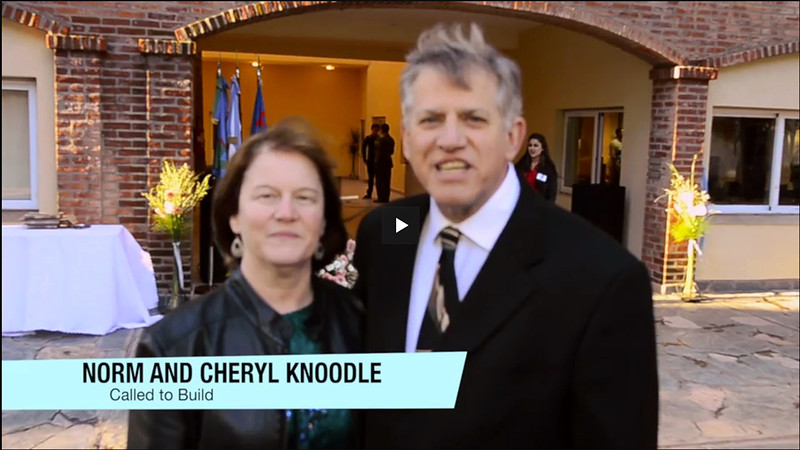 "Norm and Cheryl Knoodle, ""Thank You"" - IBRP, Buenas Aires, Argentina"