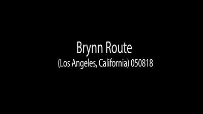 Brynn Route (Los Angeles, California) 050918