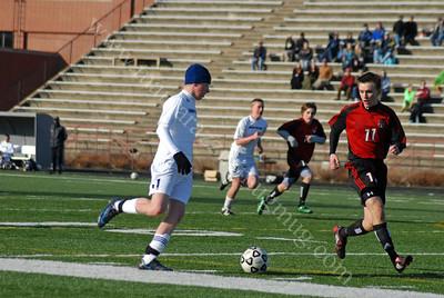 Indy Burn Club Soccer Action