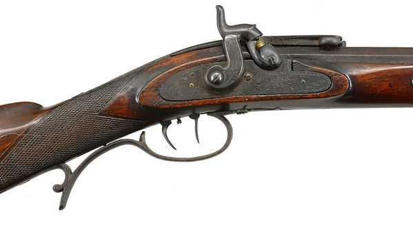 Patent half stock sporting rifle (NSN) 3