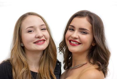 Hannah&Laura am Kirchengassenball - November 2015
