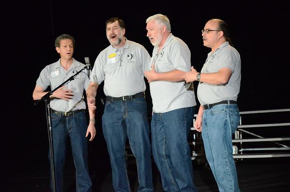 2015 Dixie District Fall Quartet Prelims