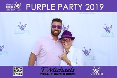 Shelter Next Generation 2019 Purple Party