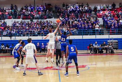 Basketball (Varsity) Area vs Millwood, March 7