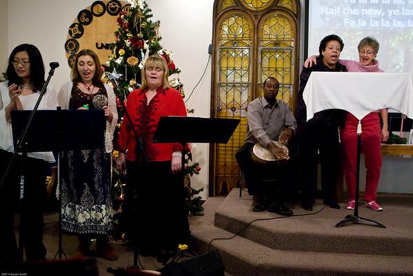 Unity Church - Dec.9, 2007