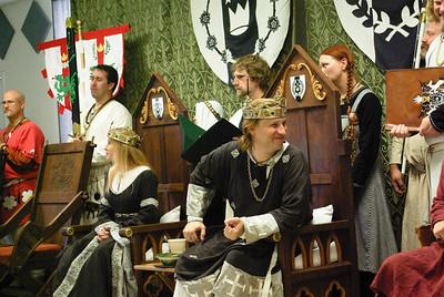Meridies Fall Coronation 2008 (Seth & Gwen)