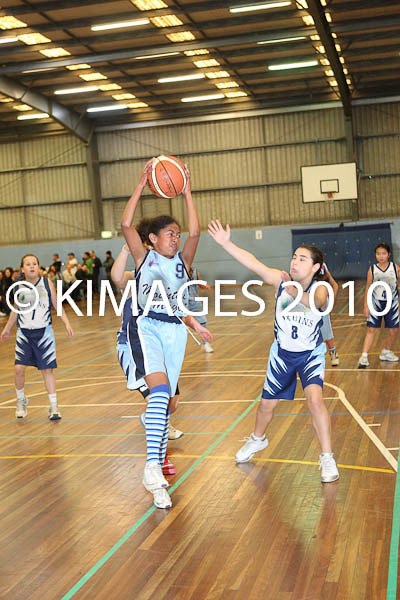 U/12 W3 Blue Mountains Vs Bankstown 1-8-10