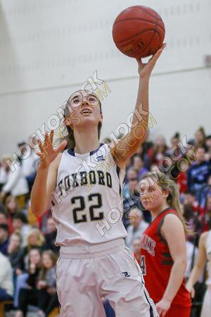 Foxboro-Silver Lake Girls Basketball - 03-08-18