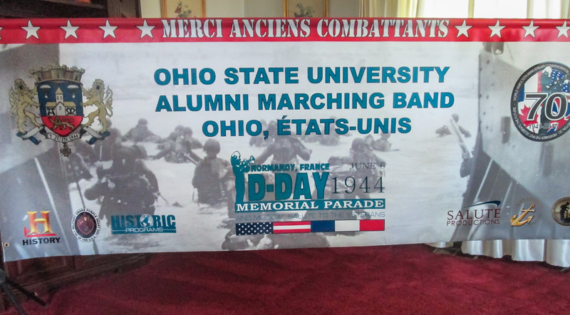 A closer look at the banner (photo courtesy Judy Baird)