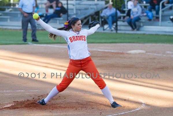 Apopka @ Boone Girls Varsity Softball Playoffs - 2012
