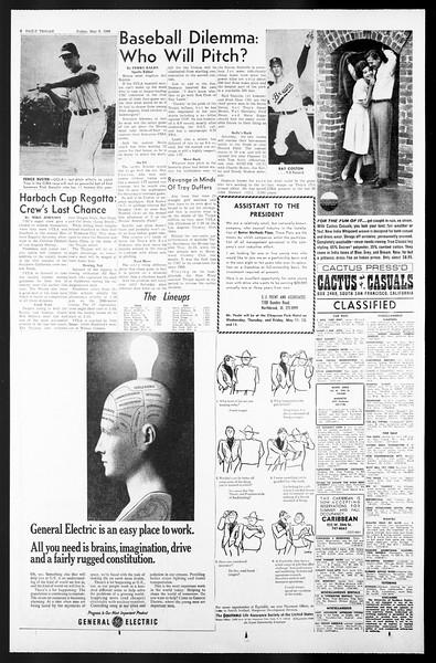 Daily Trojan, Vol. 57, No. 116, May 06, 1966