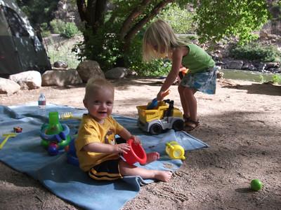 Camping Trip Glenwood Springs Klingelhebers 2010