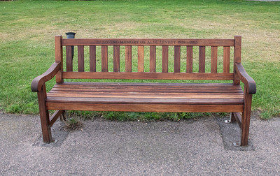 Memorial Benches and Plaques on Walmer and Deal Promenade and around town