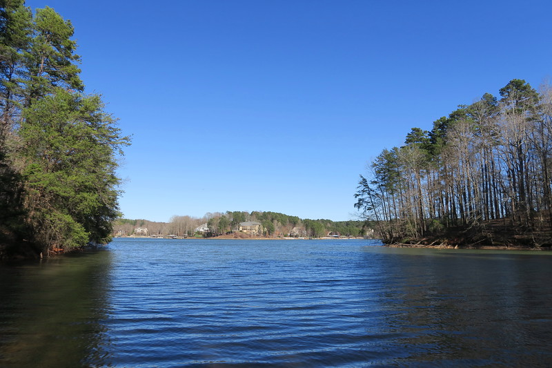 Lake Norman State Park -- Lakeshore Loop Trail, Iredell County (3-3-18)