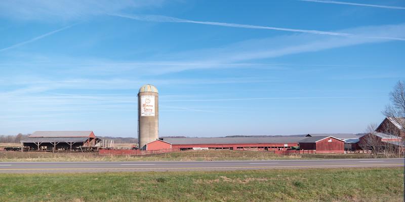 Ohio Dairy Barn