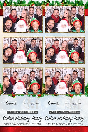 12-01-2018 Martinez- Samuel Salon Holiday Party