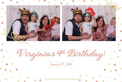 Virginia's 4th Birthday!