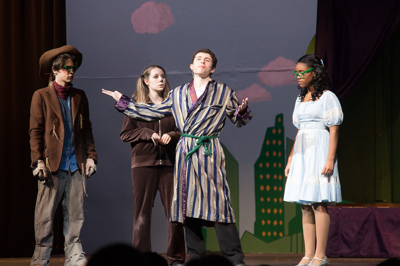 """""""The Wiz"""", Montgomery Blair High School spring musical, March 26, 2017"""