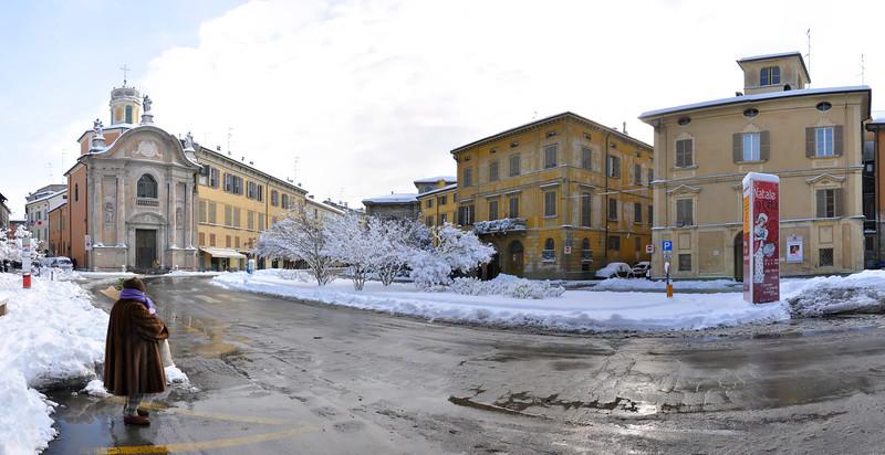 Piazza L. Roversi (Del Cristo) - Reggio Emilia, Italy - December 19, 2009