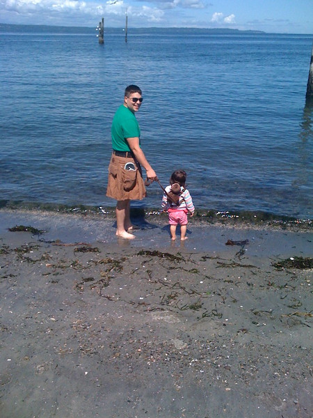 First visit to the ocean - Edmonds