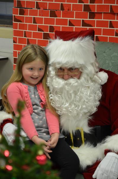 girls santa 2012