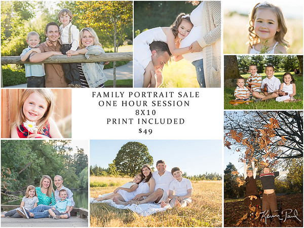 Family Portraits & Child Photography In Portland & West Linn