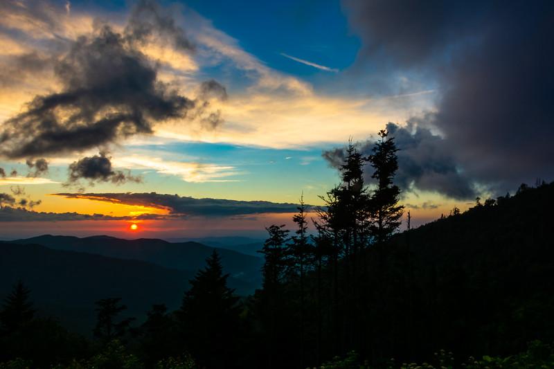 Clingman's Sunset
