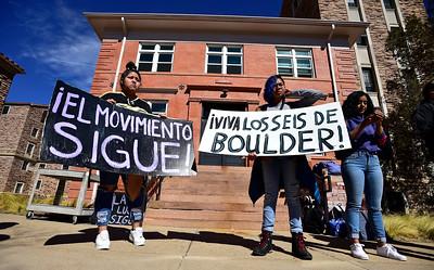 Photos: CU Boulder Los Seis Memorial Protest in Boulder
