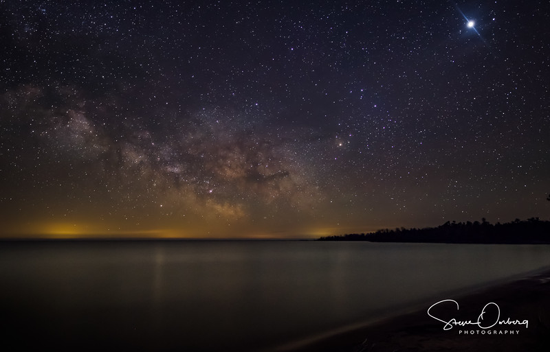 Newport State Park Milky Way - May