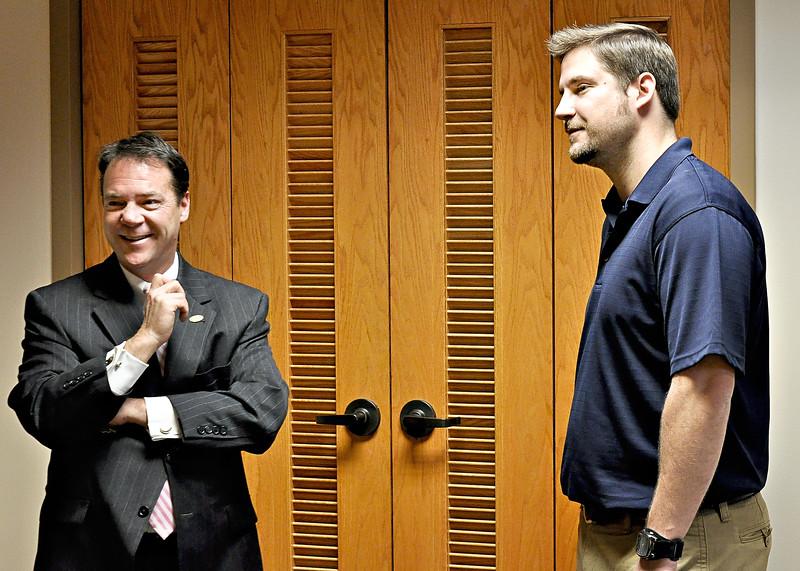 Mayor McBrayer & Andrew chat.jpg