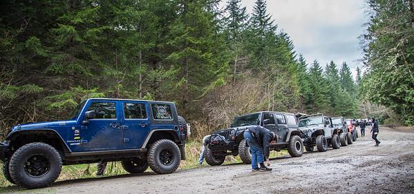 Blackout Jeep Elbe ORV trip March 2016
