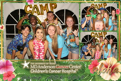 MD Anderson Children's Center - Camp AOK 2019