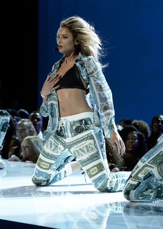 . Singer Ciara performs onstage during the 2013 BET Awards at Nokia Theatre L.A. Live on June 30, 2013 in Los Angeles, California.  (Photo by Kevin Winter/Getty Images for BET)