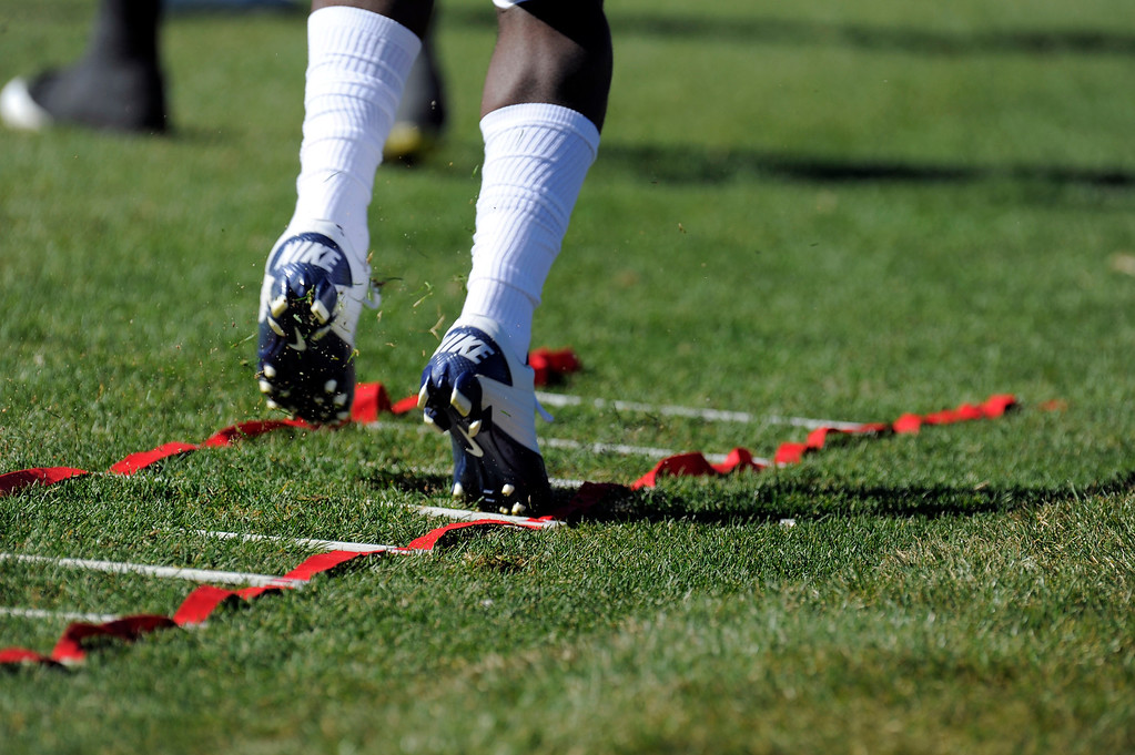 . Denver Broncos practice October 23, 2013 at Dove Valley. (Photo by John Leyba/The Denver Post)