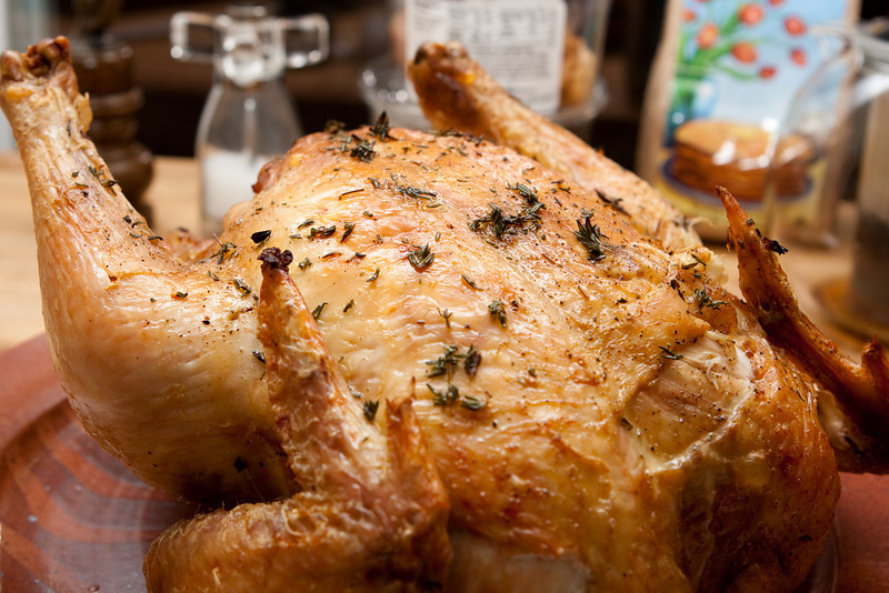 Tasty baked chicken.